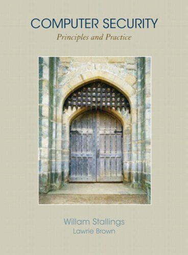 Computer Security: Principles and Practice 9780136004240