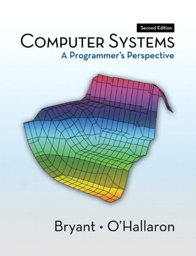 Computer Systems: A Programmer's Perspective 9780136108047