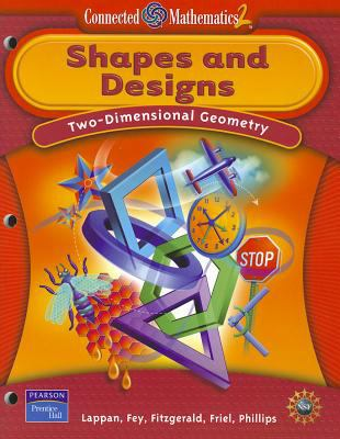Connected Mathematics Shapes and Designs Student Edition Softcover 2006c