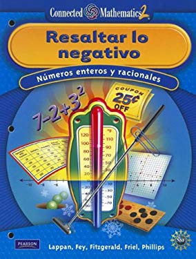 Connected Mathematics Spanish Grade 7 Student Edition Accentuate the Negative 9780133661712