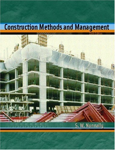 Construction Methods and Management 9780130482211