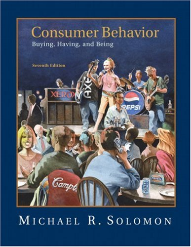 Consumer Behavior 9780132186940