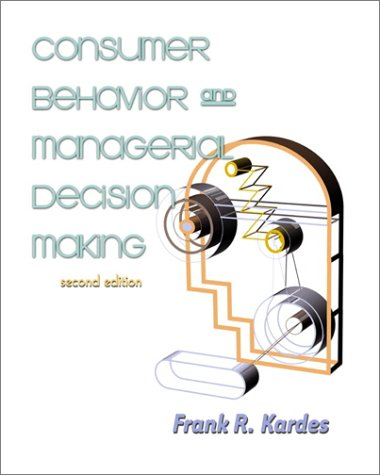 Consumer Behavior and Managerial Decision Making 9780130916020