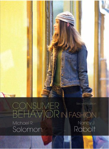 Consumer Behavior in Fashion 9780131714748