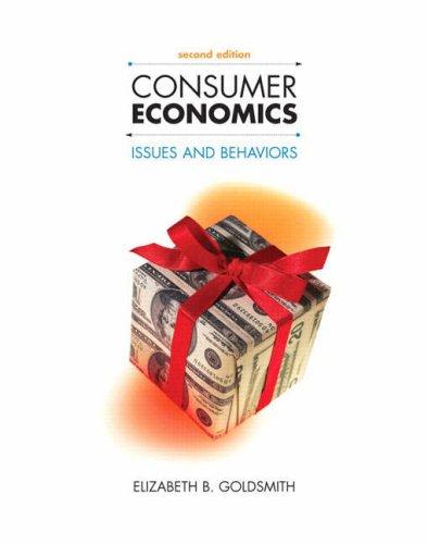 Consumer Economics: Issues and Behaviors 9780131590496