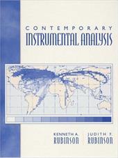 Contemporary Instrumental Analysis 408095
