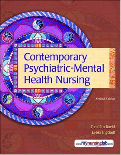 Contemporary Psychiatric-Mental Health Nursing [With CDROM] 9780132434898