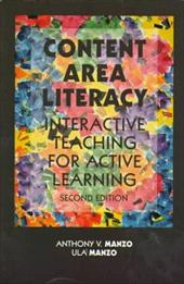 Content Area Literacy: Interactive Teaching for Active Learing 395867