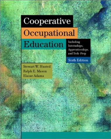 Cooperative Occupational Education 9780131104129