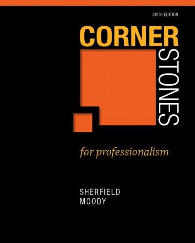 Cornerstones for Professionalism 9780132789349
