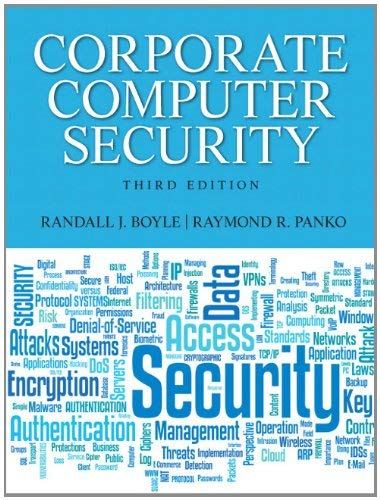 Corporate Computer Security 9780132145350
