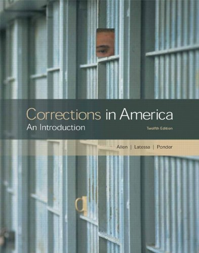 Corrections in America: An Introduction [With CDROM] 9780135034392