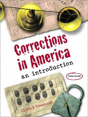 Corrections in America: An Introduction 9780130877260