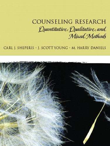 Counseling Research: Quantitative, Qualitative, and Mixed Methods 9780131757288