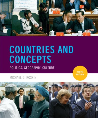 Countries and Concepts: Politics, Geography, Culture 9780136026532