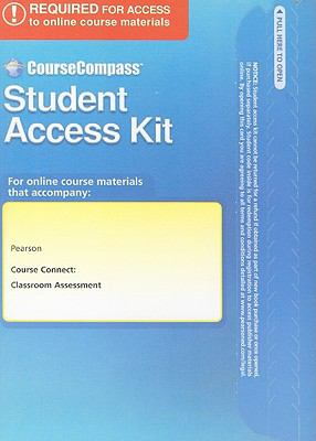 Course Connect Student Access Kit: Classroom Assessment 9780137051168