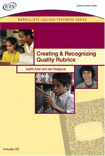 Creating & Recognizing Quality Rubrics [With CDROM] 9780135134207
