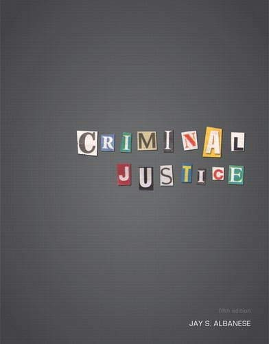 Criminal Justice 9780132770347