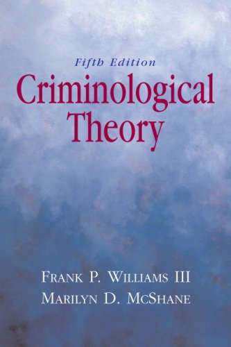 Criminological Theory 9780135154618