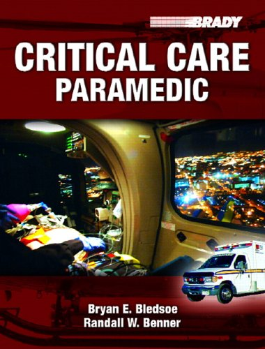 Critical Care Paramedic 9780131192713