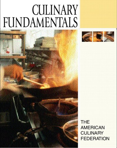 Culinary fundamentals with dvd rom by american culinary for American cuisine dvd