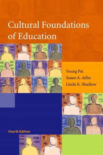 Cultural Foundations of Education 9780131702813