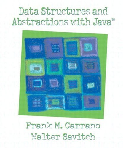 Data Structures and Abstractions with Java 9780130174895