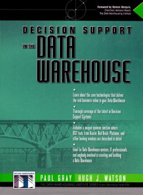 Decision Support in a Data Warehouse Environment 9780137960798