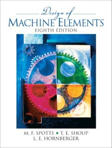 Design of Machine Elements - 8th Edition