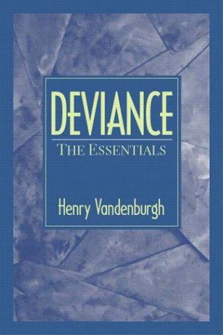 Deviance: The Essentials 9780130941138
