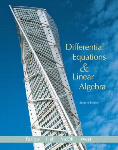 Differential Equations & Linear Algebra 9780131860612