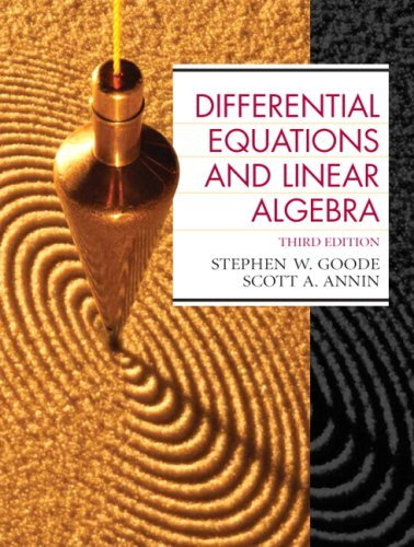 Differential Equations and Linear Algebra 9780130457943