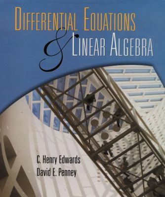 Differential Equations and Linear Algebra 9780139737510