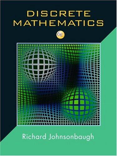 Discrete Mathematics 9780131176867