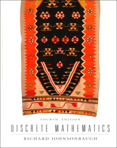 Discrete Mathematics 9780135182420