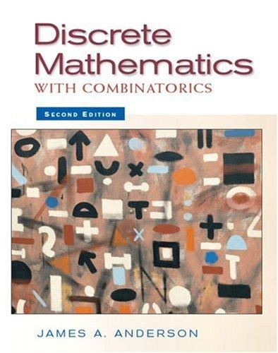 Discrete Mathematics with Combinatorics 9780130457912