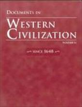 Documents in Western Civilization, Volume 2 - Prentice Hall / Pearson Education / Pearson, Rebecca L.