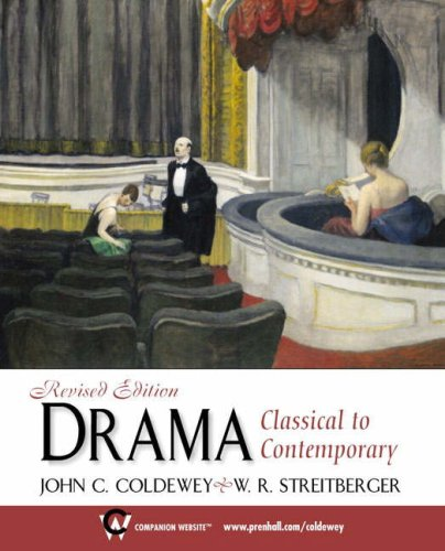 Drama: Classical to Contemporary, Revised Edition 9780130884411