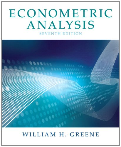 Econometric Analysis 9780131395381