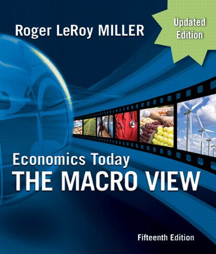 Economics Today: The Macro View 9780132139410