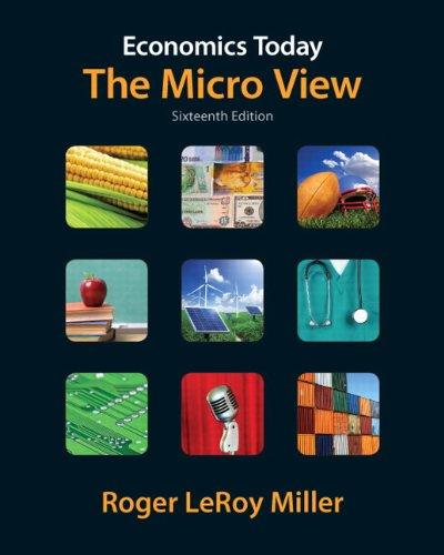 Economics Today: The Micro View 9780132554411