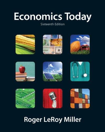 Economics Today 9780132554619
