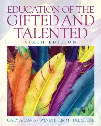 Education of the Gifted and Talented 9780135056073