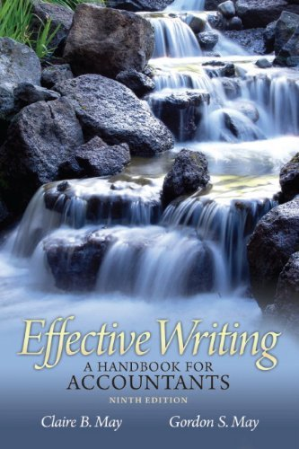 Effective Writing: A Handbook for Accountants 9780132567244