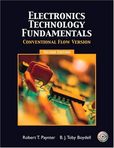 Electronics Technology Fundamentals - Conventional Flow