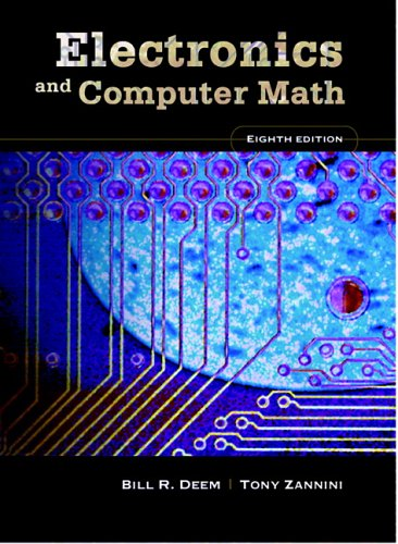 Electronics and Computer Math 9780131711372