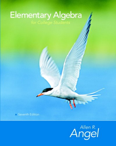 Elementary Algebra for College Students [With CD-ROM] 9780131994577