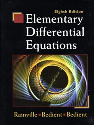 Elementary Differential Equations 9780135080115