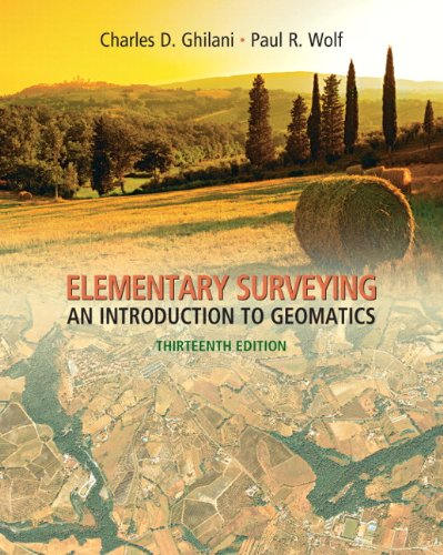 Elementary Surveying: An Introduction to Geomatics [With Access Code] 9780132554343