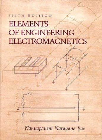 Elements of Engineering Electromagnetics 9780130132017